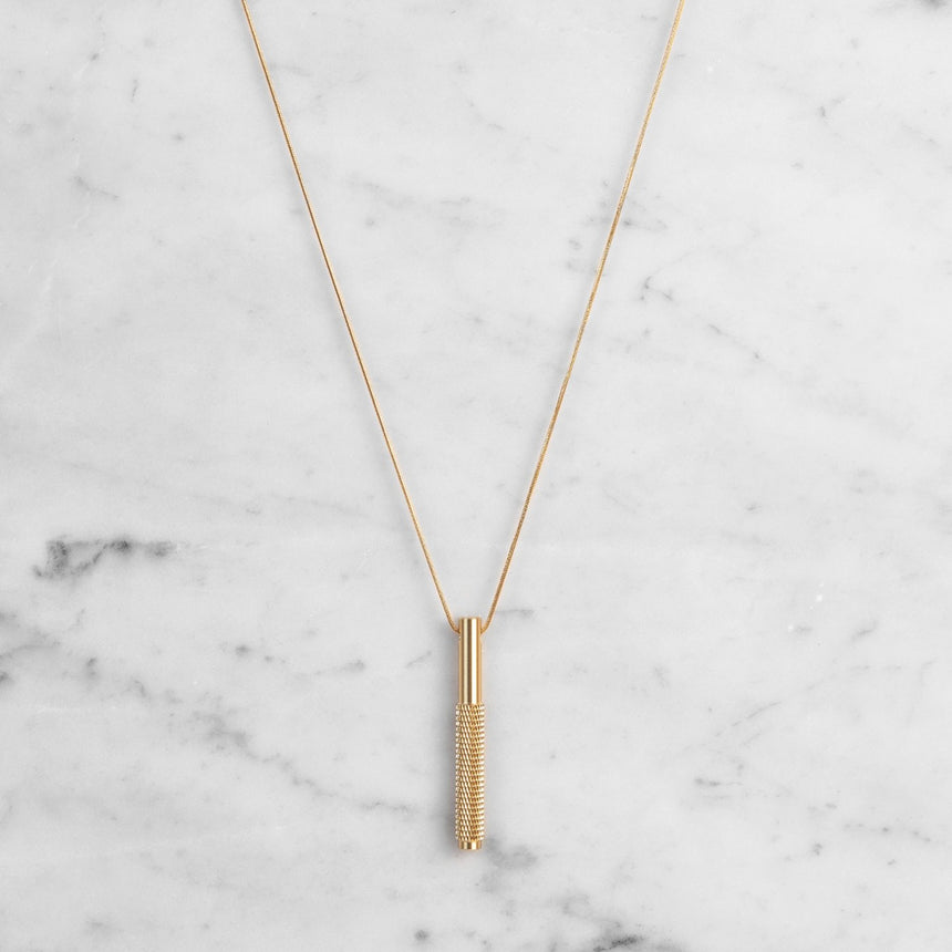 NECKLACE VERTICAL LINEAR