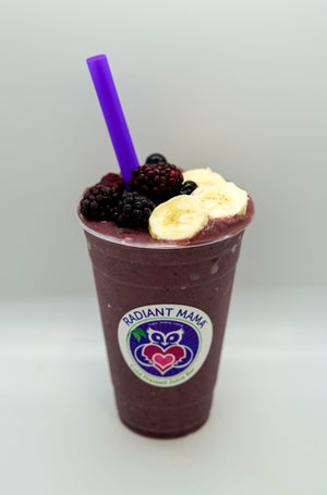 Banana Berry Superfood Smoothie
