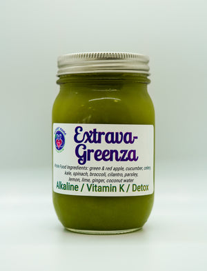 Extrava-Greenza Juice