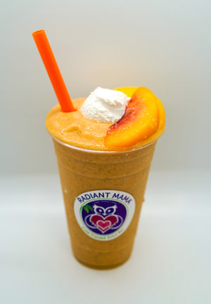 Energizing Peaches n' Cream Superfood Smoothie