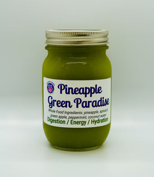 Pineapple Green Paradise Juice
