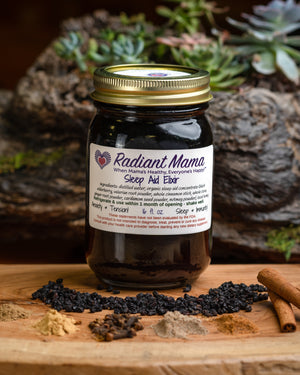 Sleep Aid Elderberry Elixir