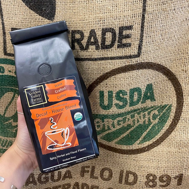 Decaf House Blend Coffee-Certified Organic