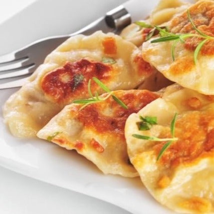 Cheese Steak Pierogis