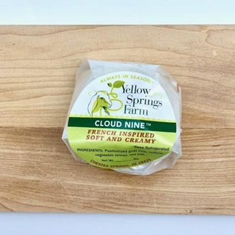 Yellow Springs Farm- Cloud Nine Goat Cheese