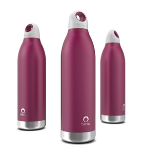 Bevu® Insulated Bottle Plum