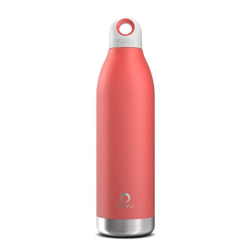 Bevu® Insulated Bottle Coral