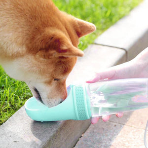 Pet Dog Cat Water Bottle Portable Travel Outdoor