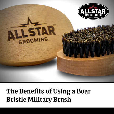 All-Star Grooming USA Military Brush