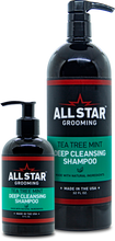 Load image into Gallery viewer, Tea Tree Mint, All-Natural, Deep Cleansing Shampoo, 32 oz or 8 oz