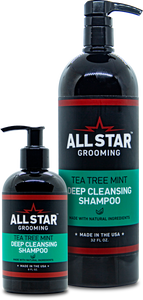 Tea Tree Mint, All-Natural, Deep Cleansing Shampoo, 32 oz or 8 oz