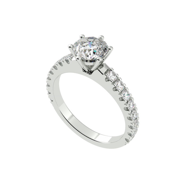 Princess Cut Solitaire Ring (ARTSR088)