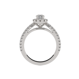 Round Diamond Halo Ring (ARTHR045)