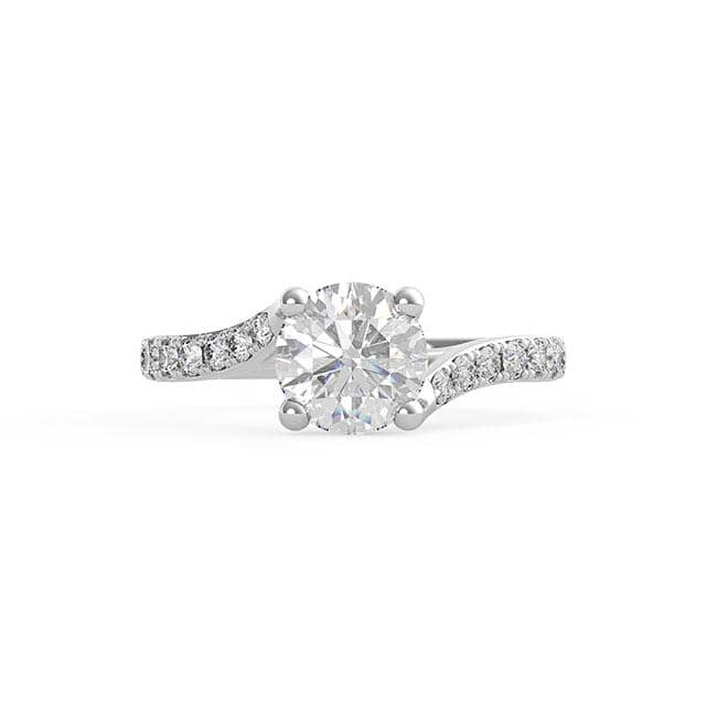 Round Diamond Solitaire (ARTSR009)
