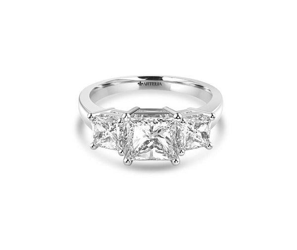 Classic Diamond Trilogy Ring (Art063)