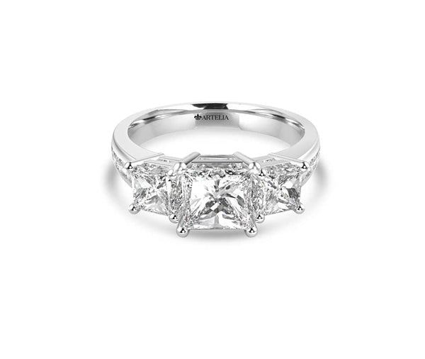 Classic Diamond Trilogy Ring (ART069)