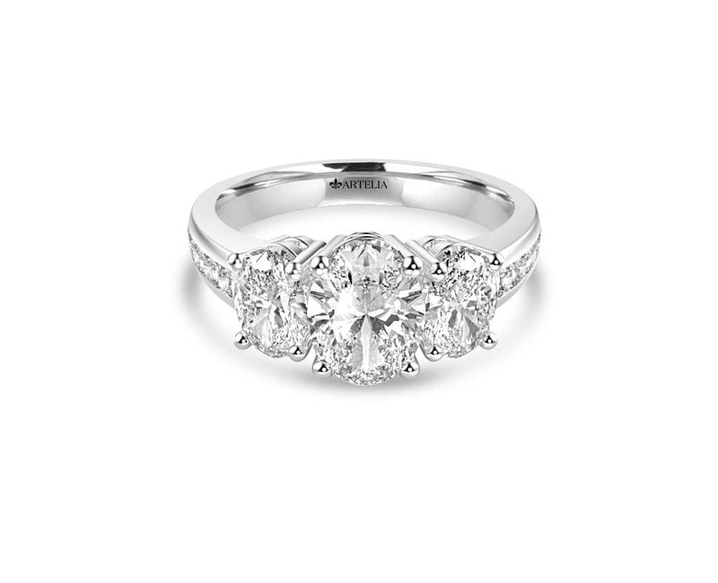 Classic Diamond Trilogy Ring (ART070)