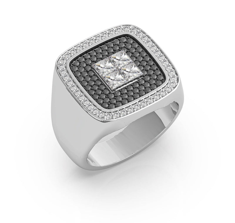 Melik Diamond Wedding Ring