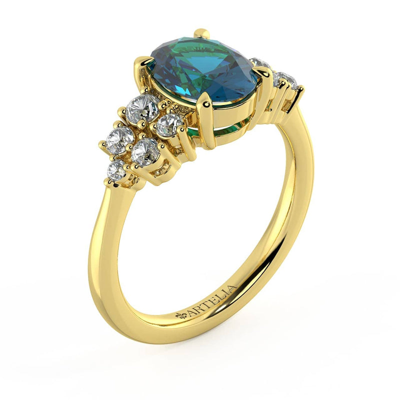 Allyra A Sapphire Ring