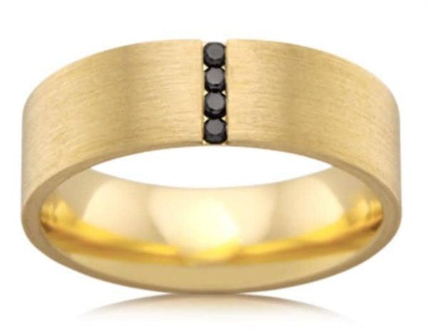 Tony (Black Diamond Wedding Ring)
