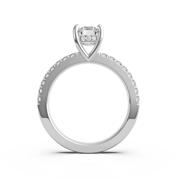 Round Diamond Solitaire Ring (ARTSR082)