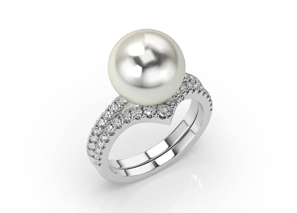 Artelia Pearl & Diamond Ring (ARTPR102)