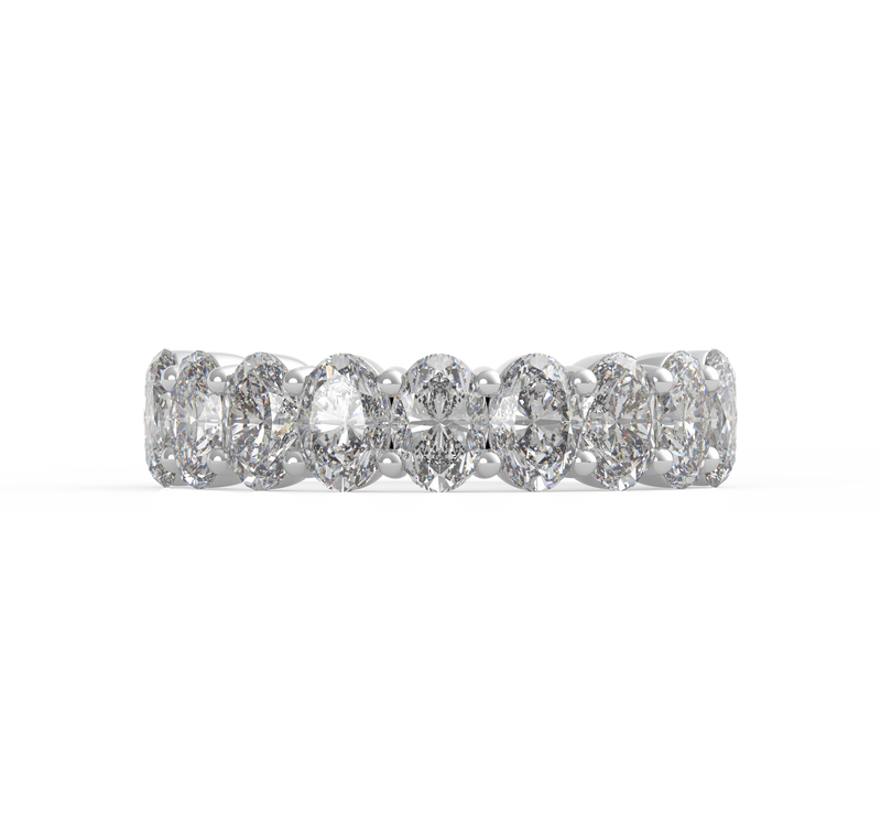 18K Oval Diamond Ring (ARTLDWR101)