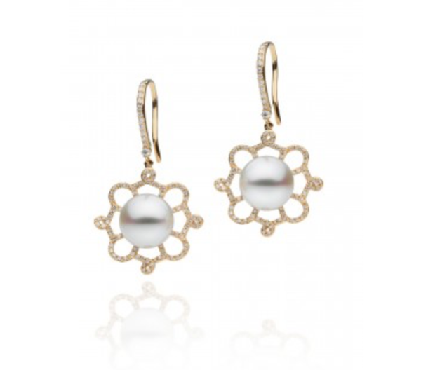 Fleur South Sea Pearl Earrings