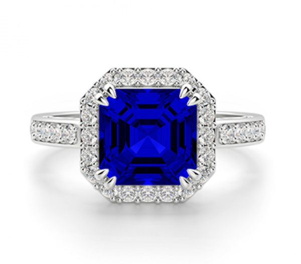 Victoria Sapphire and Diamond Ring