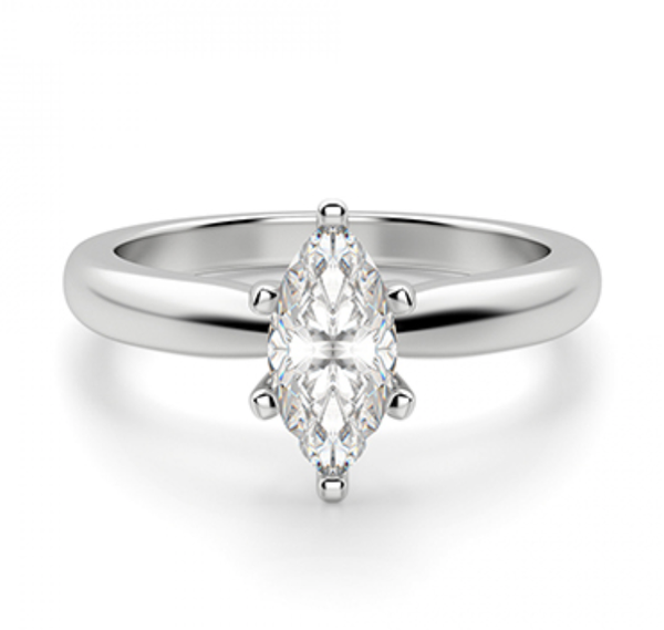 Diana Marquise Diamond Engagement Ring