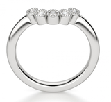 Laura Fitted Diamond Wedding Ring