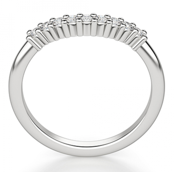 Ena Fitted Diamond Wedding RIng