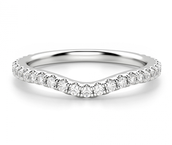 Zena Fitted Diamond Wedding Ring