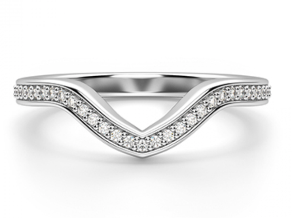 Emma Diamond Fitted Wedding Ring