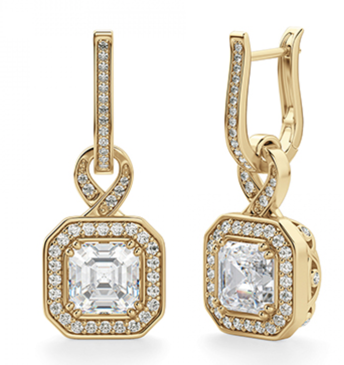 Julia Diamond Drop Earrings