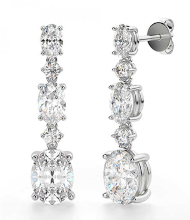 Lana Diamond Drop Earrings