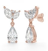 Ballerina Dimaond Earrings