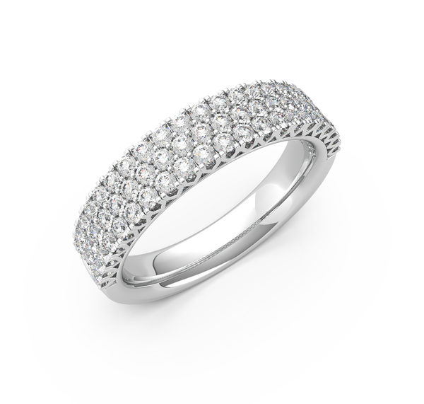 Pave Diamond Wedding Ring (ARTLDWR114)