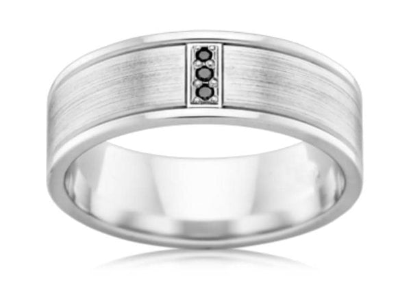 Serkan (Black Diamond Wedding Ring)