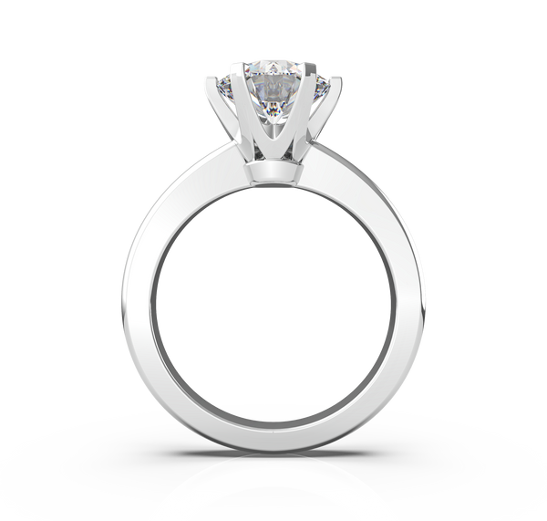 Round Diamond Solitaire Ring (ARTSR005)