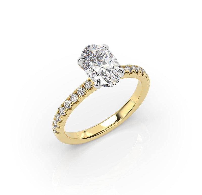 Artelia Oval diamond Solitaire (ART016)