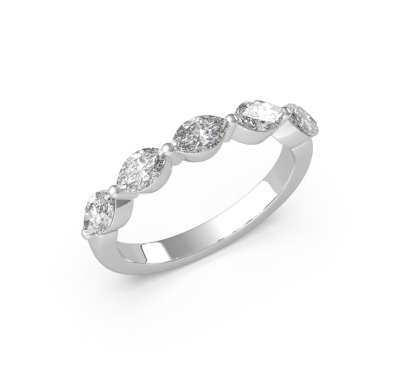 18K Marquis Diamond Ring (ARTLDWR102)