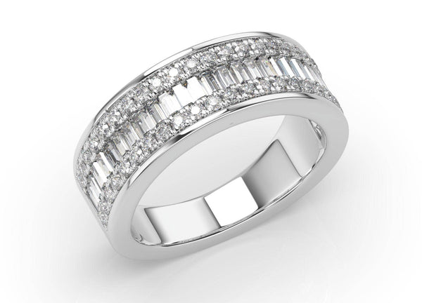 Catherine Diamond Wedding Ring (7mm)