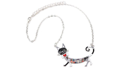 Original Bonsny Maxi Kitten Necklace CatLadies.store | Shop for Cats & Cat Lovers