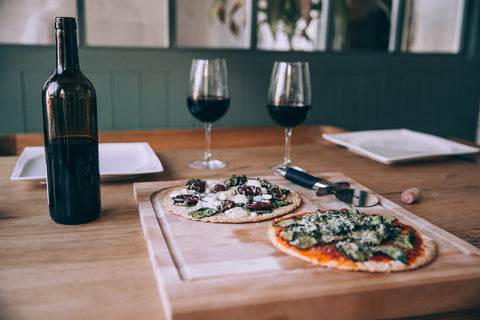 Pizza & Wine for Two