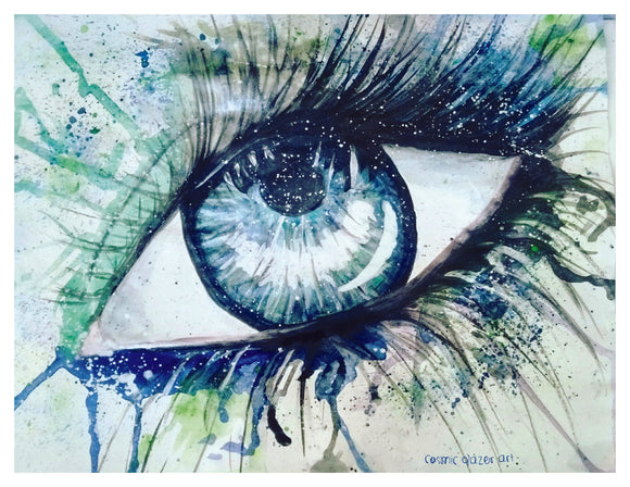 Watercolor Eye II Print