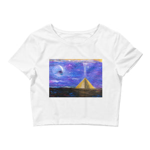 Pyramid Ascension Women's Crop Top