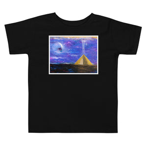 Pyramid Ascension Toddler Short Sleeve Tee