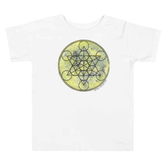 Full Moon Metatron Toddler Short Sleeve Tee