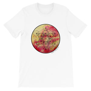 Solara Metatron - Short-Sleeve Unisex Tee - Metatron Shirt - Sacred Geometry Shirt - Mens Tee Shirt